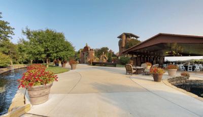 Castle Unicorn Grounds & Pavilion 3D Model